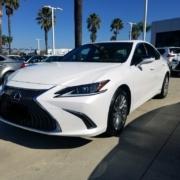 2019-lexus-es-300-h-auto-broker-consultant-camarillo-ca-white-on-display-prepare-for-delivery-side-picture